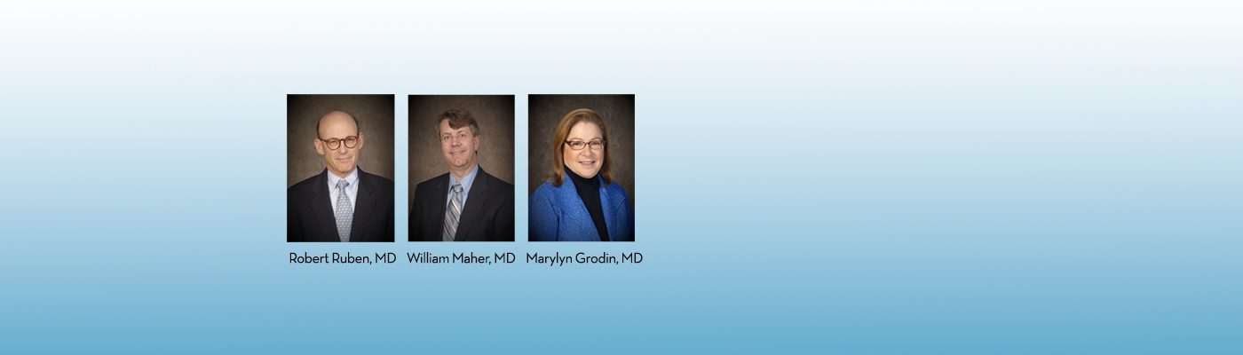 Drs. Ruben, Maher, and Grondin were selected as top gastroenterologists